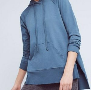 Anthropologie hooded tunic